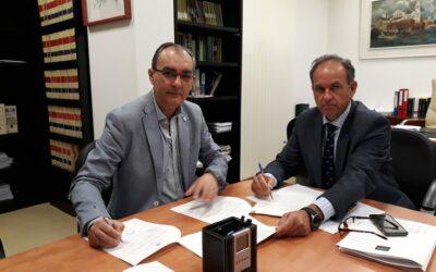 Firma de Convenio de Fundación TAS y la Diputación de Sevilla